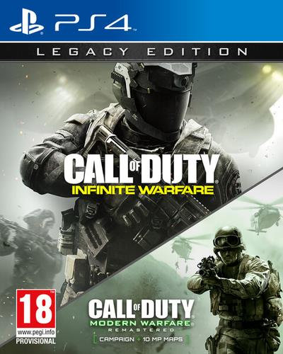 ACTIVISION GAME SONY PS4 CALL OF DUTY INIFNITY WAREFARE LEGACY EDITION
