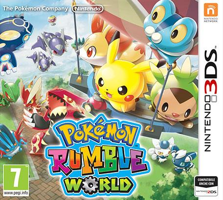 NINTENDO GAME NINTENDO 3DS POKEMON RUMBLE WORLD