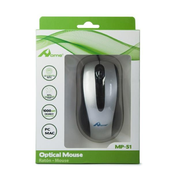 TECNO SHOP MOUSE OPTICAL USB HOME