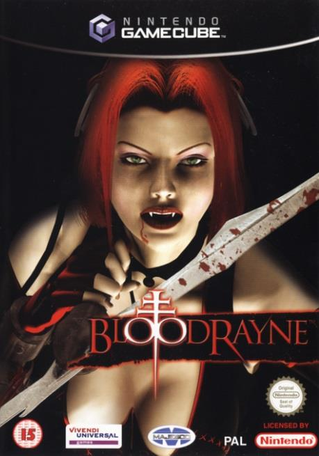 SONY GAME NINTENDO GC BLOODRAYNE