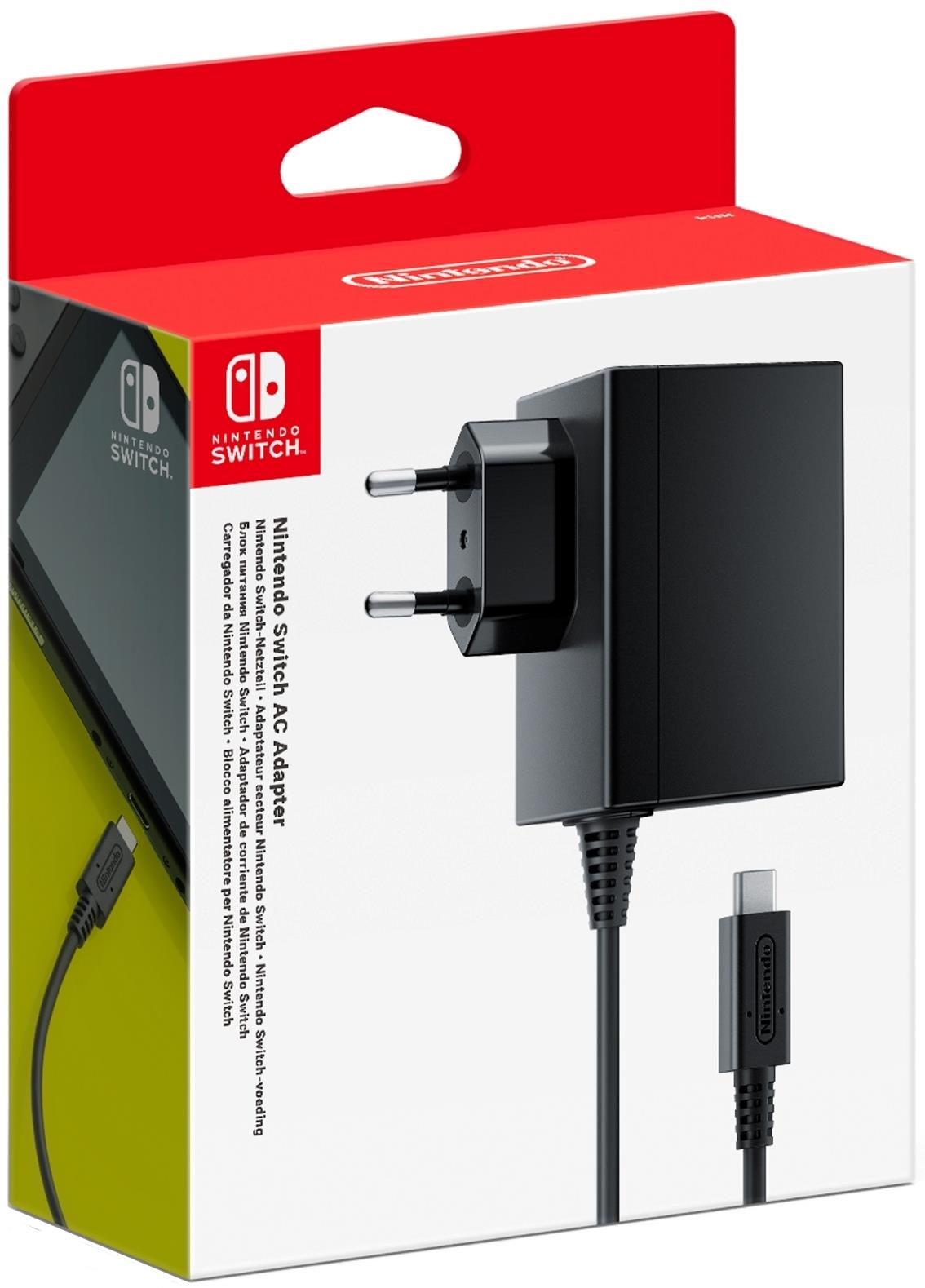 NINTENDO CARICABATTERIE NINTENDO SWITCH AC ADAPTER EUR
