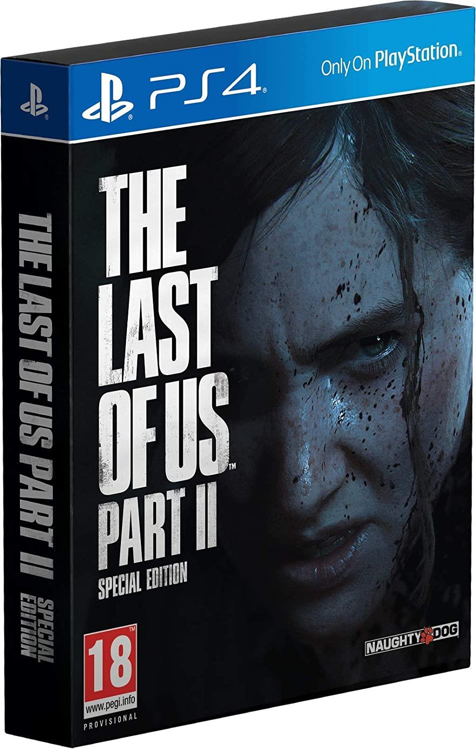 SONY GAME SONY PS4 THE LAST OF US PARTE II SPECIAL EDITION
