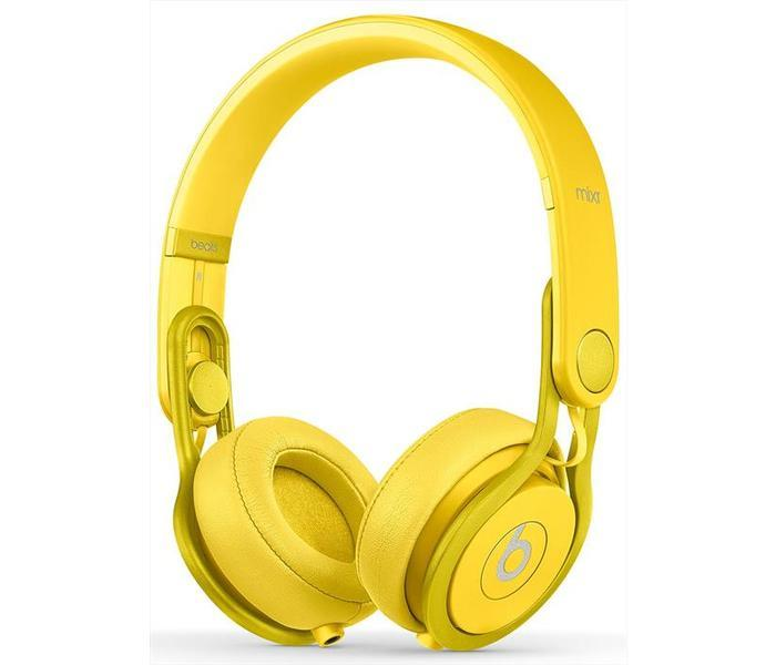 BEATS CUFFIA ON EAR MIXR COLOR YELLOW