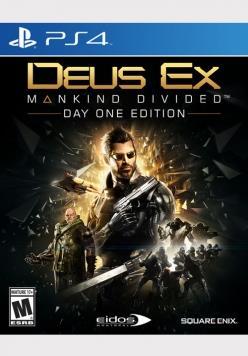 SONY GAME SONY PS4 DEUS EX MANKIND DIVIDED DAYONE EDITION