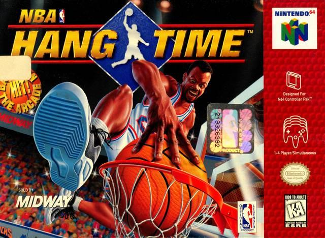NINTENDO N64 NBA HANG TIME