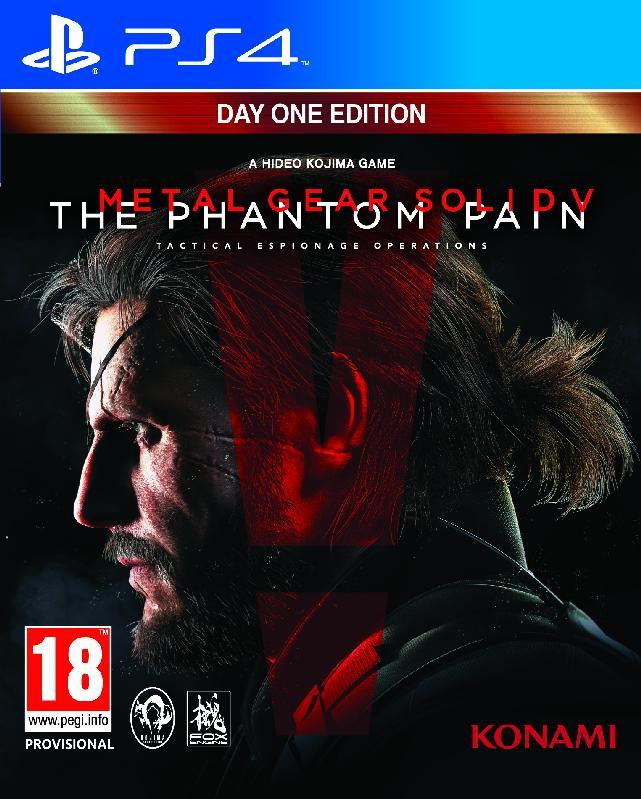 ELECTRONIC ARTS GAME SONY PS4 METAL GEAR SOLID V THE PHANTOM PAIN DAY ONE EDITIO
