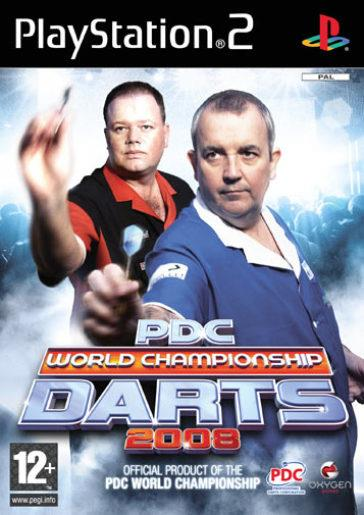 TX GAME PS2 PDC WORLD CHAMP. DARTS 2008
