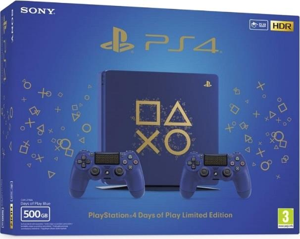 SONY CONSOLE SONY PS4 LIMITED EDITION 2° CONTROLLER 500 GB