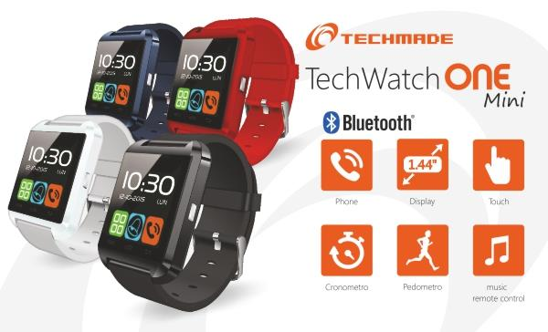 TECHMADE SMARTWATCH DISP 1.44 ANDROID 4.2 BIANCO