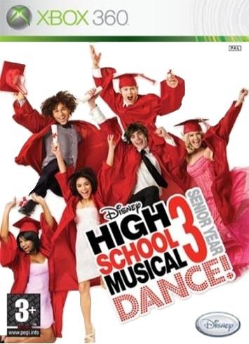 DISNEY GAME MICROSOFT XBOX 360 HIGH SCHOOL MUSICAL 3