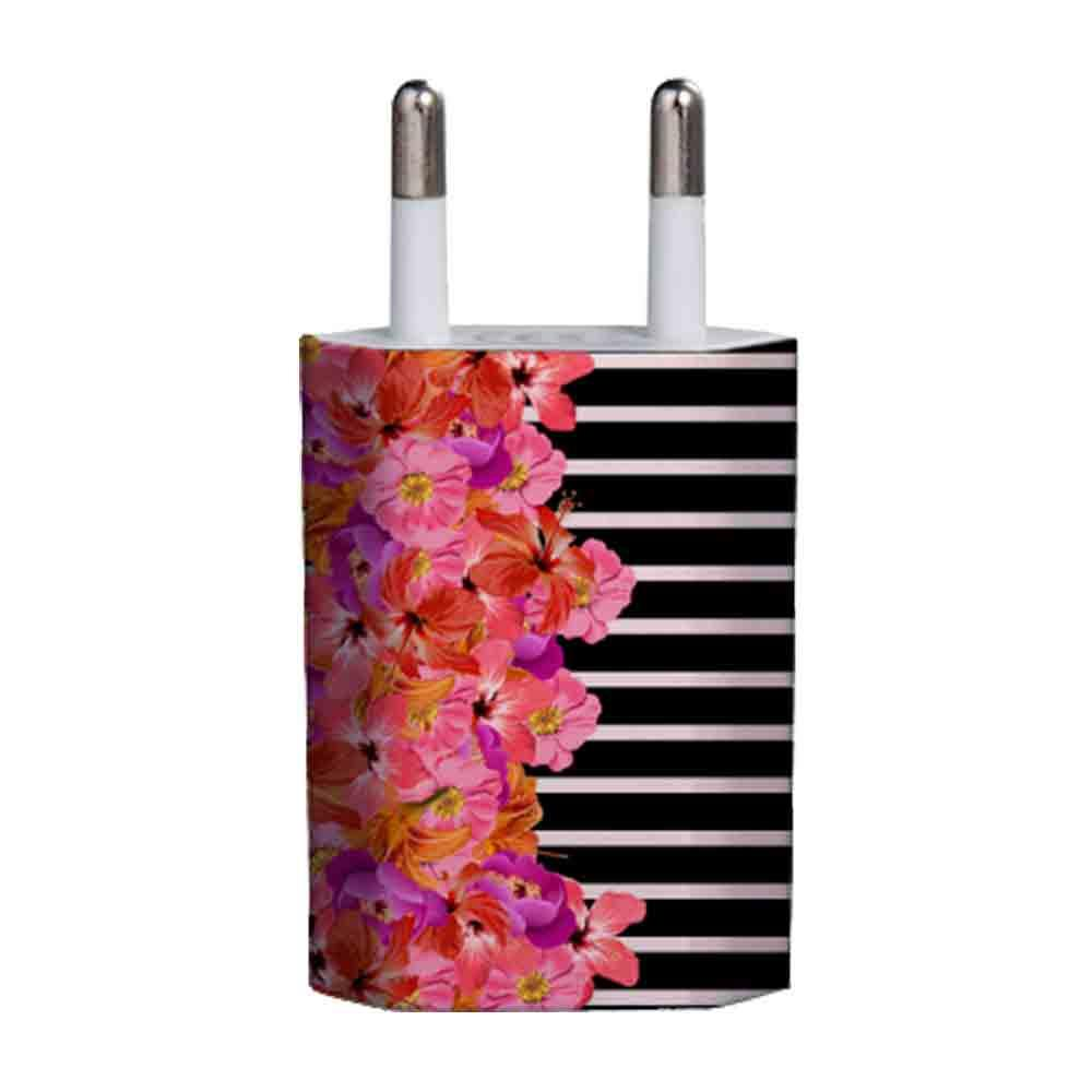AREA CARICATORE DA RETE AREA 1A 1USB FLOWER STRIPERS