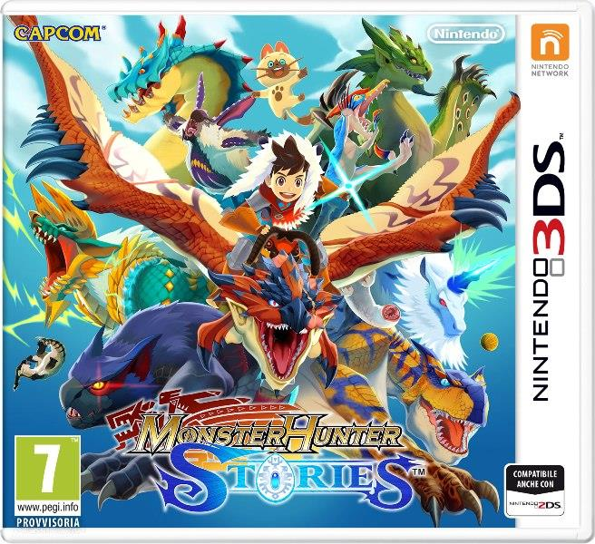 NINTENDO GAME NINTENDO 3DS MONSTER HUNTERS STORIES