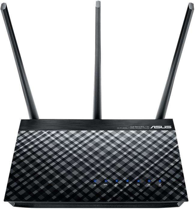 ASUS MODEM ROUTER ASUS WIRELESS 750 DSL-AC750