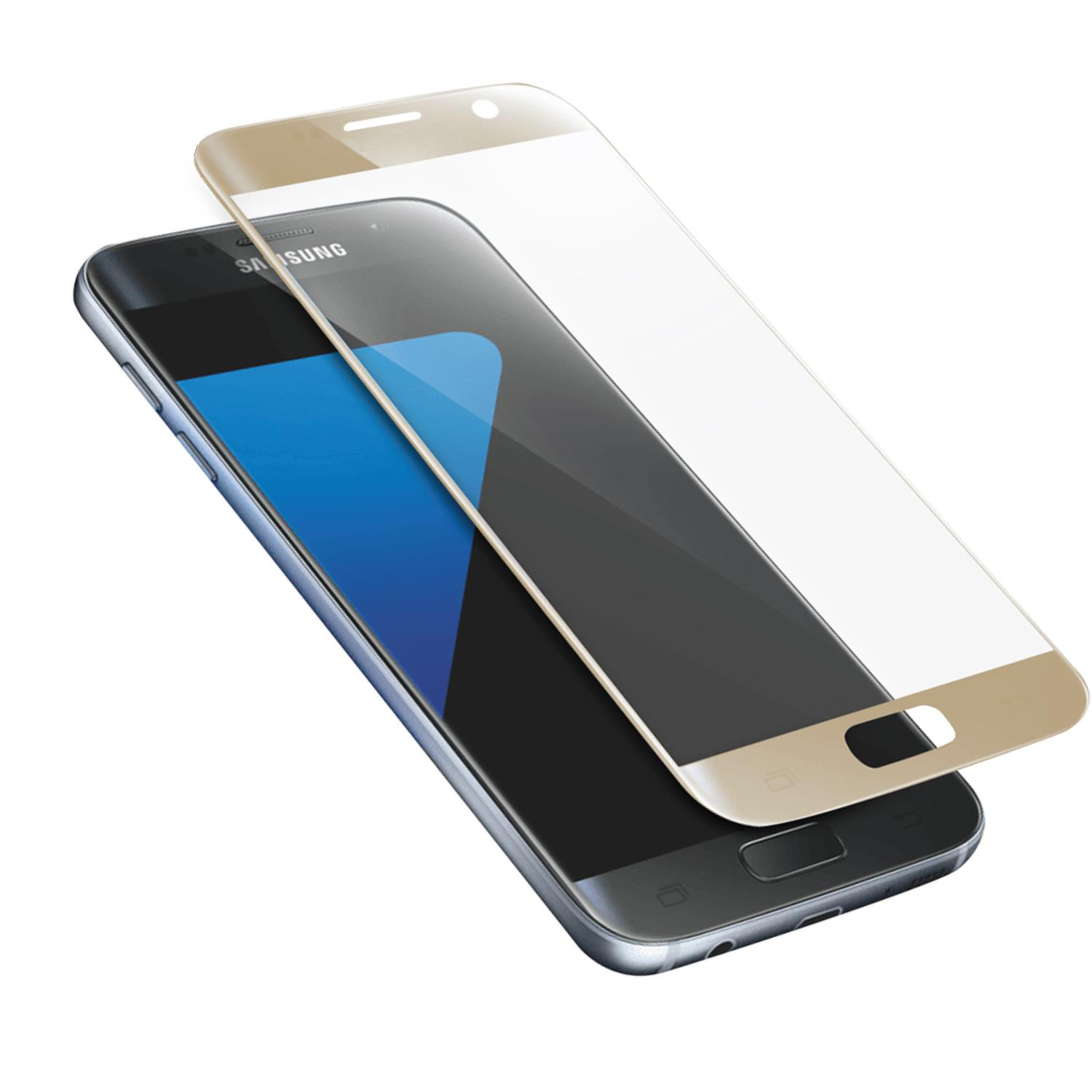 AREA AREA SCREEN PROTECTOR GLASS ORO (1PZ) PER GALAXY S7
