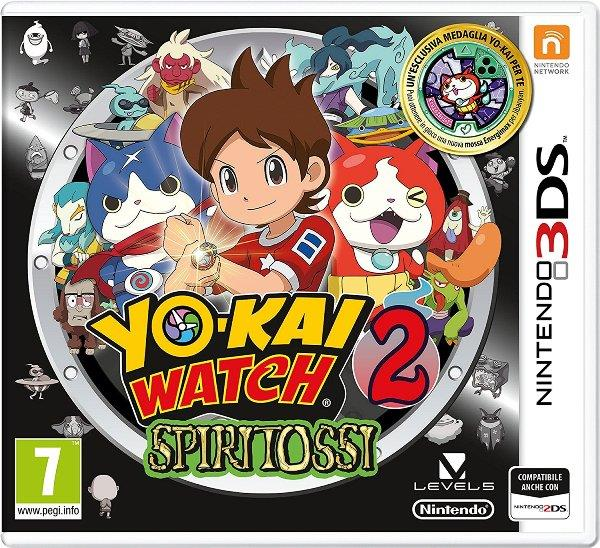 NINTENDO GAME NINTENDO 3DS YOKAI WATCH 2 POLPANIME SPECIAL EDITION ITA
