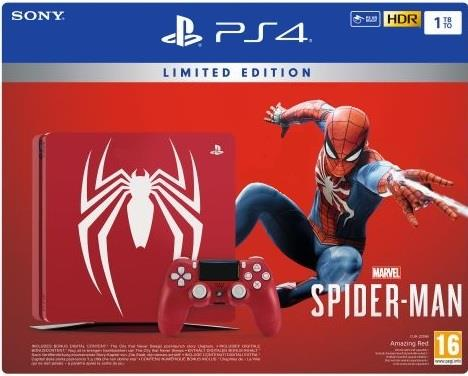SONY CONSOLE SONY PS4 1 TB SPIDER-MAN LIMITED EDITION