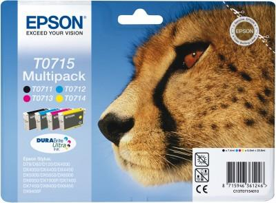 EPSON MULTIPACK EPSON (T071) 4 COLORI STYD78