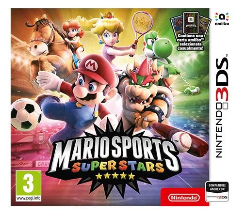 NINTENDO GAME NINTENDO 3DS MARIO SPORTS SUPERSTARS + 1 AMIIBO CARD