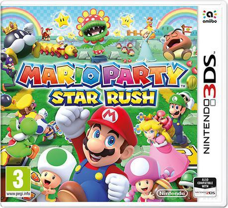 NINTENDO GAME NINTENDO 3DS MARIOPARTY STAR RUSH