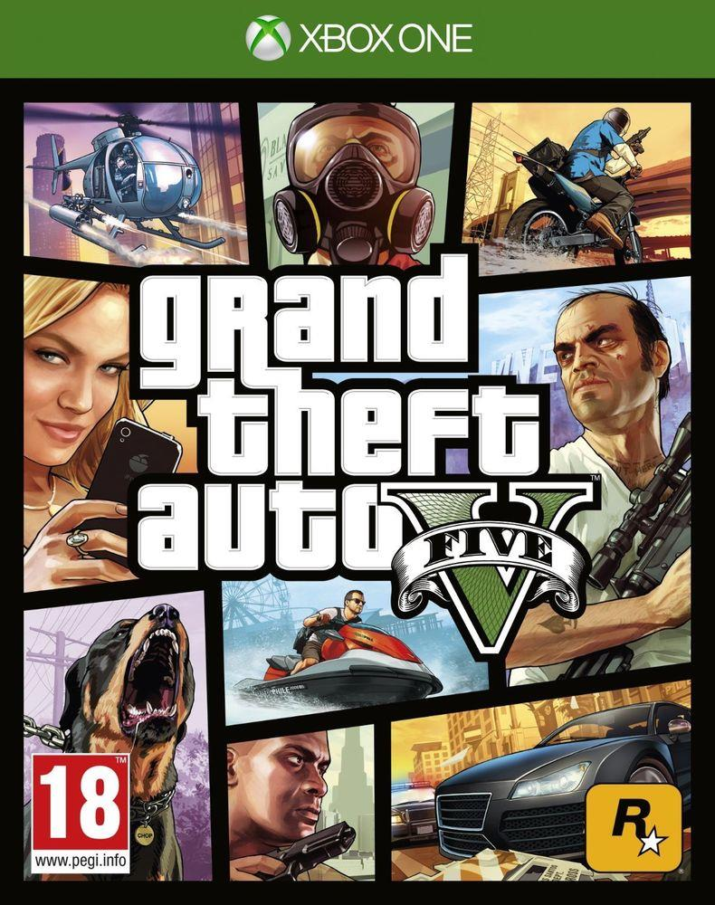 TAKE TWO INTERACTIVE GAME XBOX ONE GTA V
