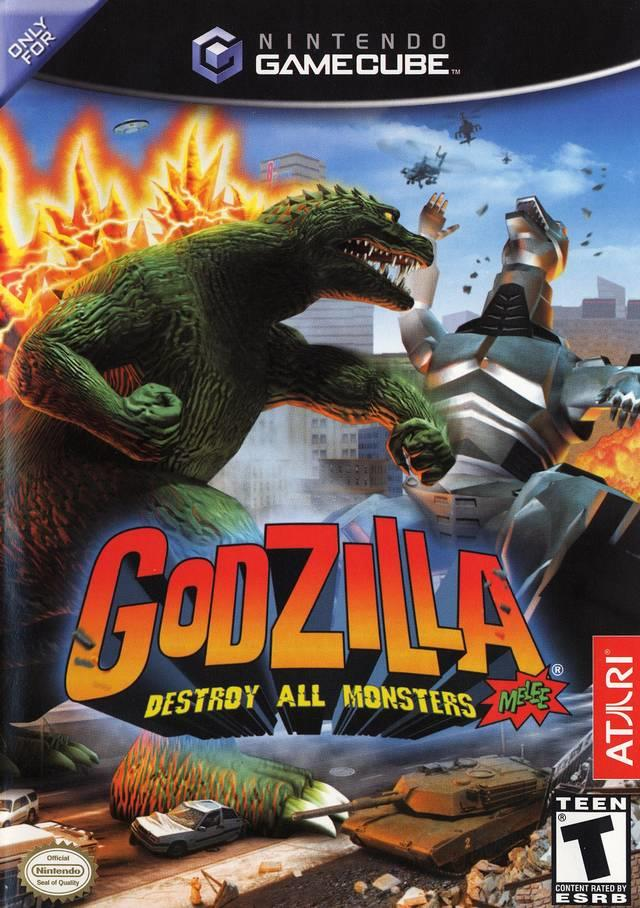 SONY GAME NINTENDO GC GODZILLA DESTROY ALL MONSTERS