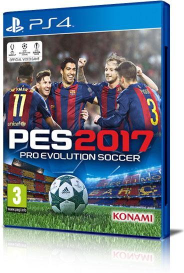 SONY GAME SONY PES 2017 PRO EVOLUTION SOCCER PS4