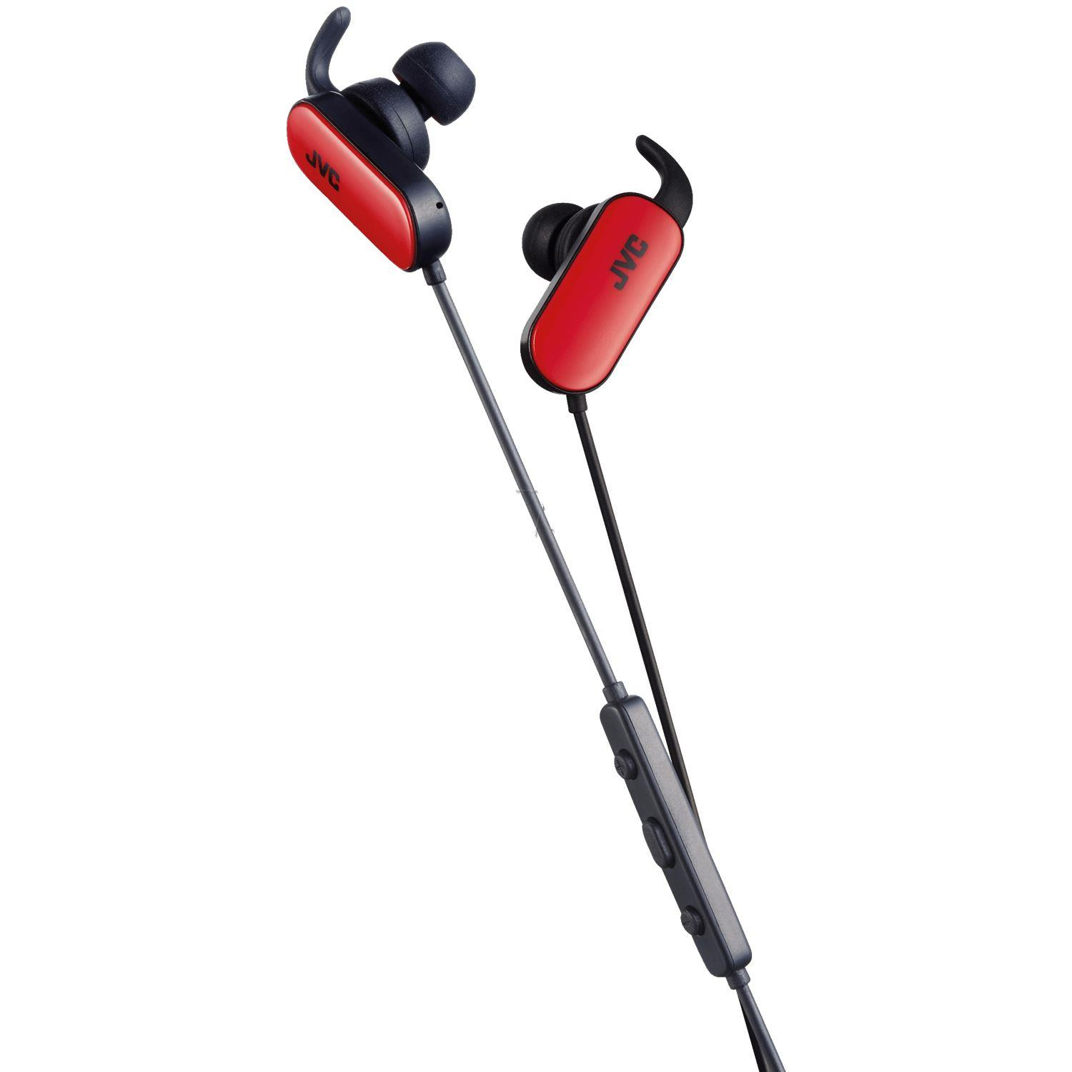 JVC CUFFIA JVC BLUETOOTH SPORT WIRELESS ROSSA