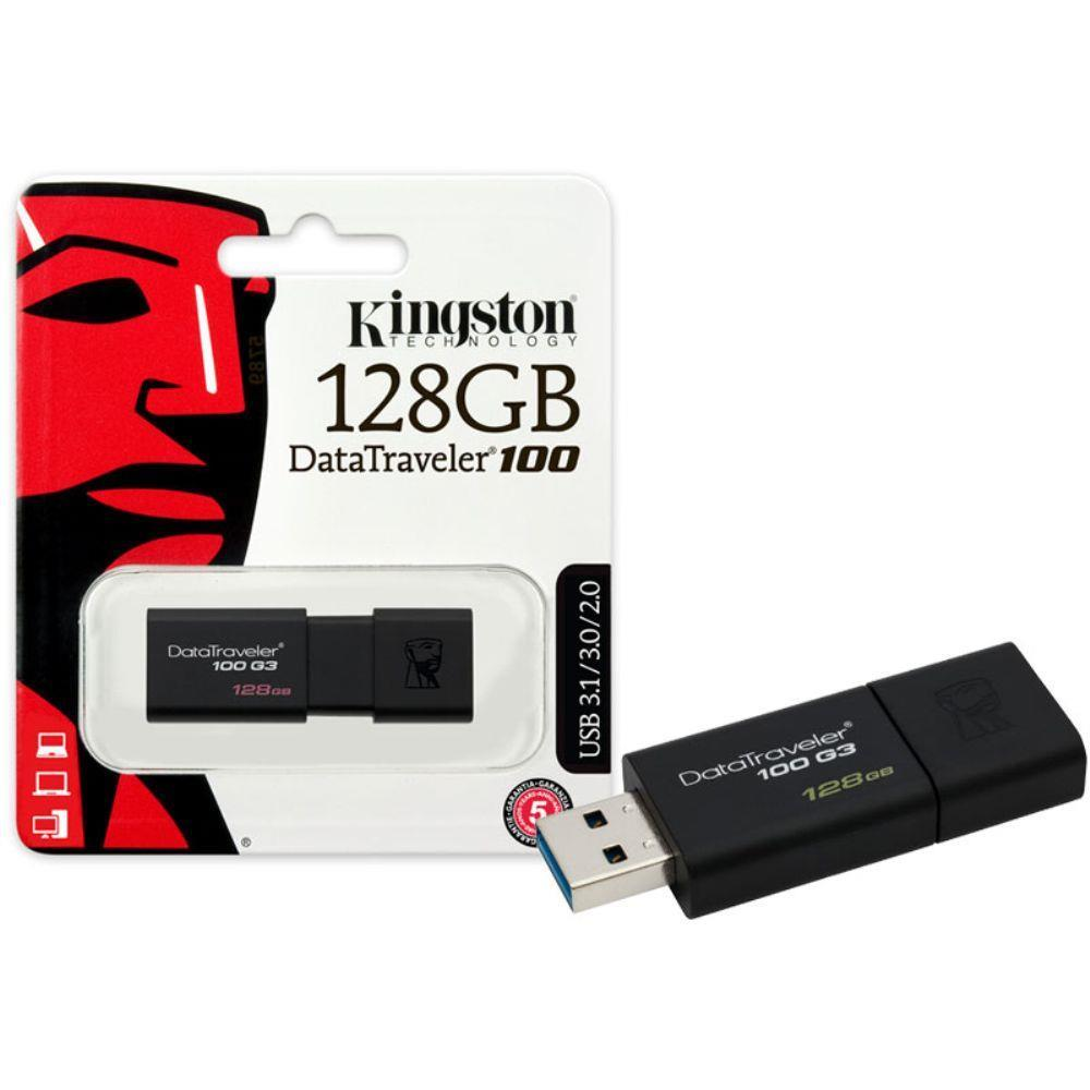 KINGSTON PEN DRIVE KINGSTON 128GB USB 3.0 DT100G3