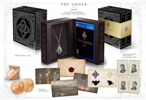 SONY GAME SONY PS4 THE ORDER: 1886 COLLECTOR EDIT