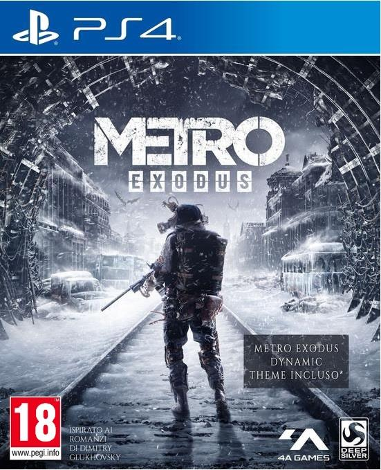 SONY GAME SONY PS4 METRO EXODUS