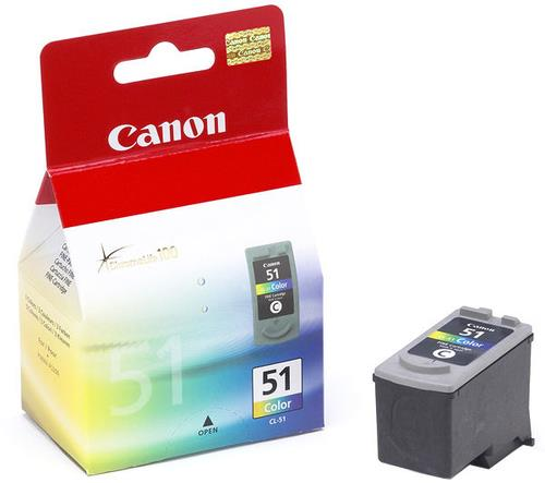 CANON CL-51 BJ CARTRIDGE IP2200 COLORE