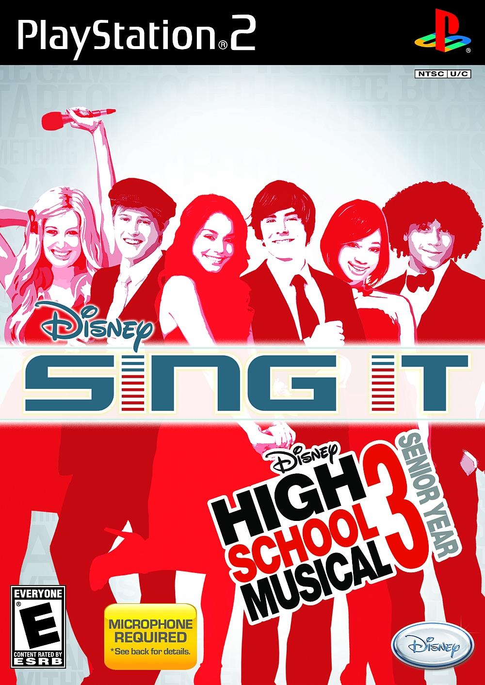 TX GAME SONY PS2 SING IT HSM