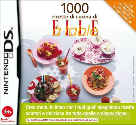 NINTENDO GAME NINTENDO NDS 1000 COOKING RECIPES