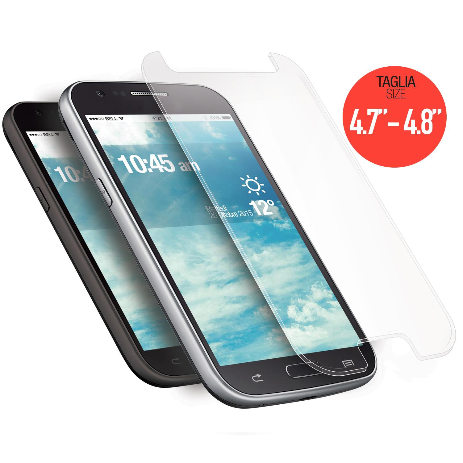 AREA AREA SCREEN PROTECTOR GLASS UNIVERSALE 4.8