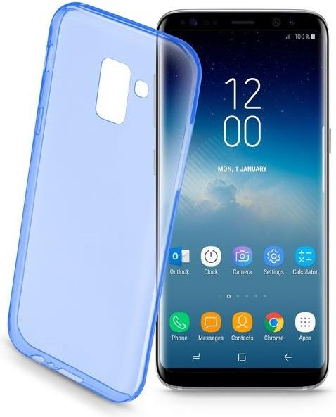 CELLULAR LINE CUSTODIA CELLULAR LINE BACK COLOR CASE PER SAMSUNG GALAXY S9 BLU