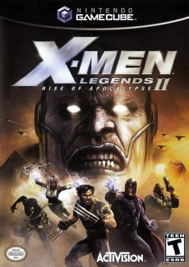 NINTENDO GAME NINTENDO GC X-MEN LEGENDS II RISE OF THE APOCALYPSE