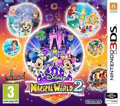 NINTENDO GAME NINTENDO 3DS MAGICAL WORLD 2 DISNEY