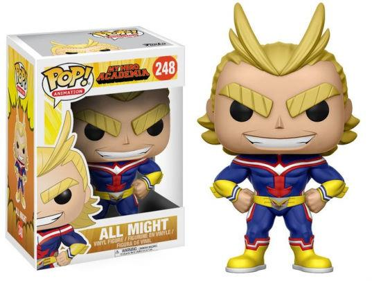 FUNKO ACTION FIGURES FUNKO POP VINYL MY HERO ACADEMIA ALL MIGHT 6FUN