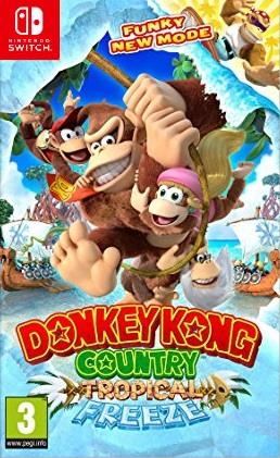 NINTENDO GAME NINTENDO SWITCH DONKEY KONG COUNTRY: TROPICAL FREEZE