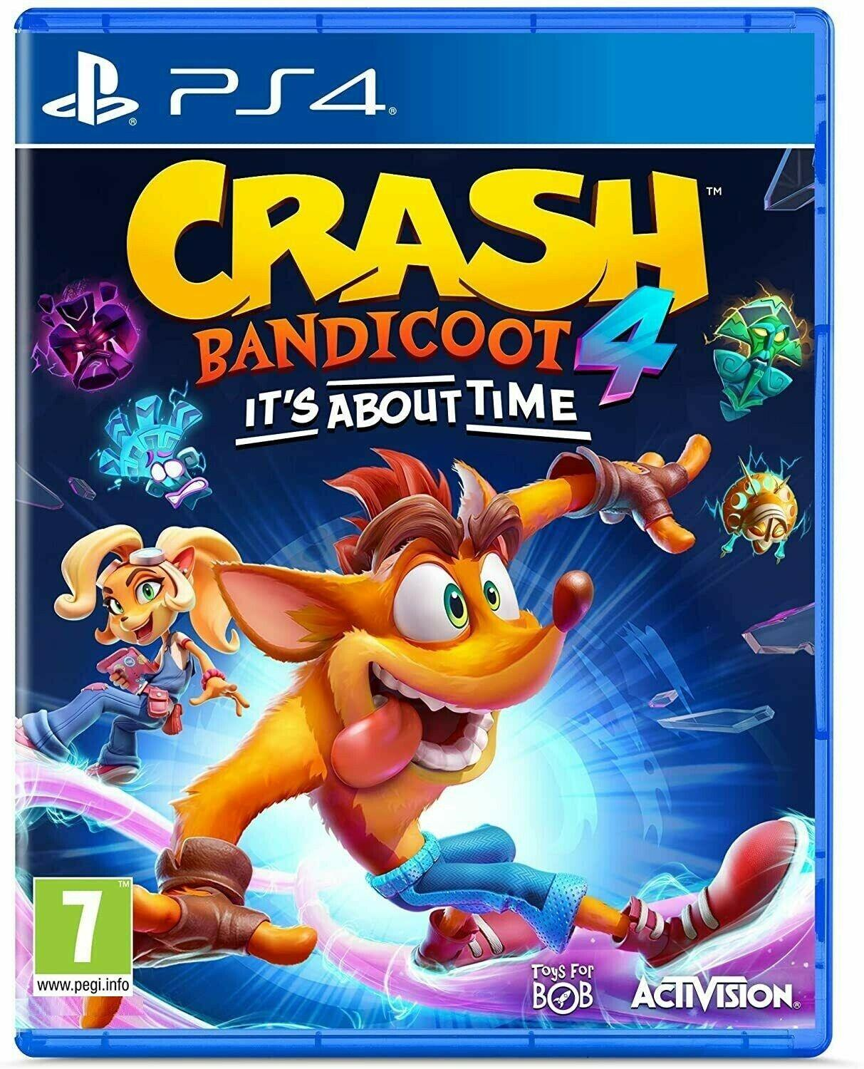ACTIVISION Crash Bandicoot 4 Its about time PS4 IT