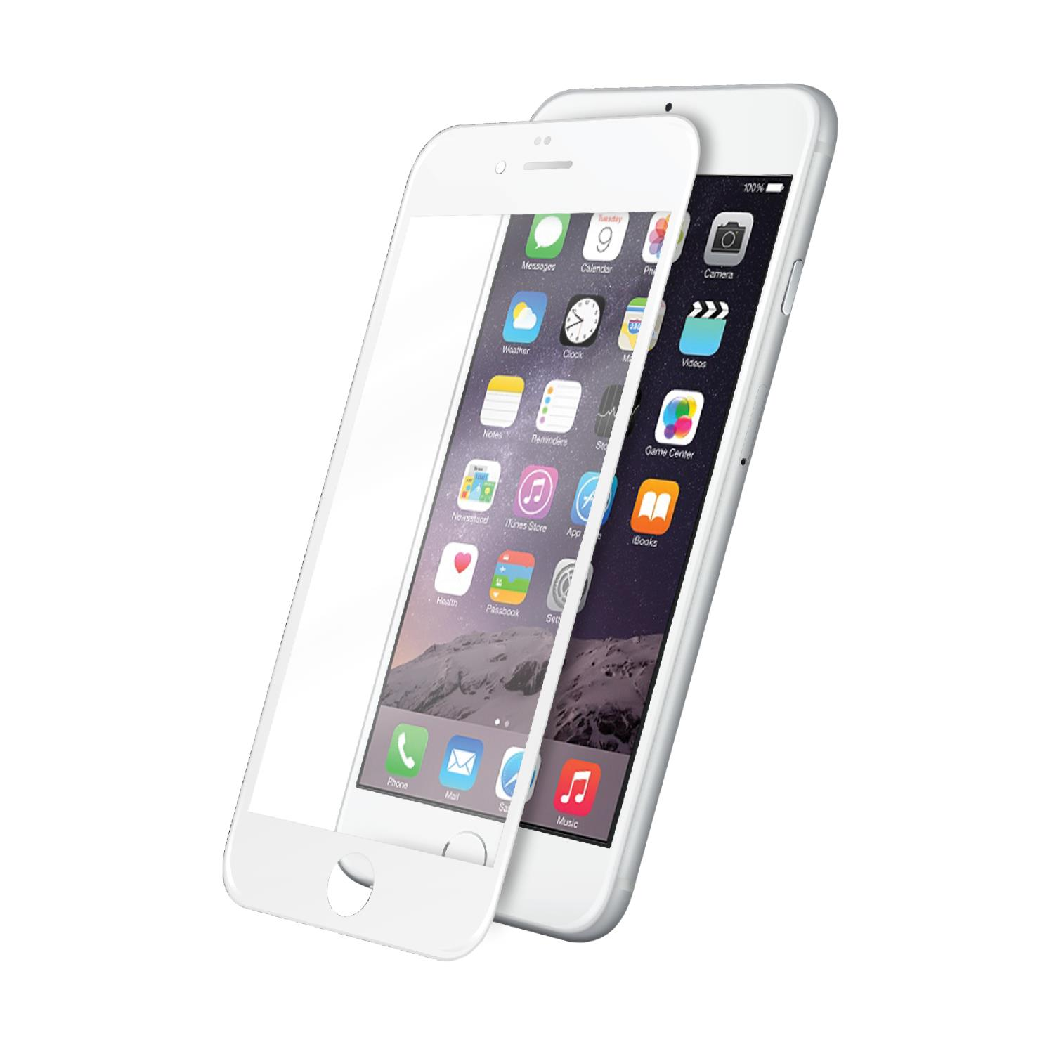 AREA AREA SCREEN PROTECTOR 3D GLASS FULL COV. BIANCO IPHONE 7