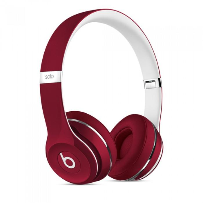BEATS CUFFIE ON-EAR SOLO 2. DE LUXE EDITION - RED