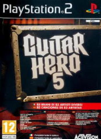 ACTIVISION GAME PS2 GUITAR HERO 5