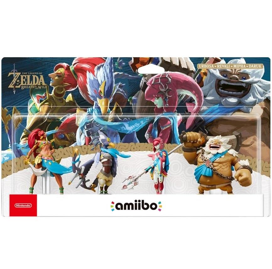 NINTENDO AMIIBO NINTENDO THE LEGEND OF ZELDA 4 SET EUR