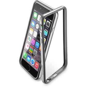 CELLULAR LINE BUMPER CELLULARLINE  SATIN PER IPHONE 6 GRIGIO