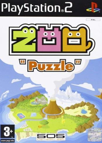 SONY GAME SONY PS2 ZOO PUZZLE