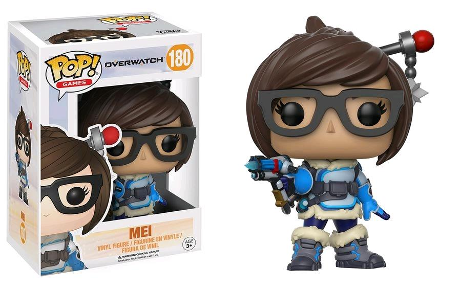 FUNKO ACTION FIGURES FUNKO POP VINYL OVERWATCH MEI