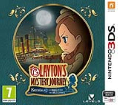 NINTENDO GAME NINTENDO 3DS LAYTON'S MYSTERY JOURNEY