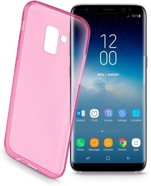 CELLULAR LINE CUSTODIA CELLULAR LINE BACK COLOR CASE PER SAMSUNG GALAXY S9 ROSA