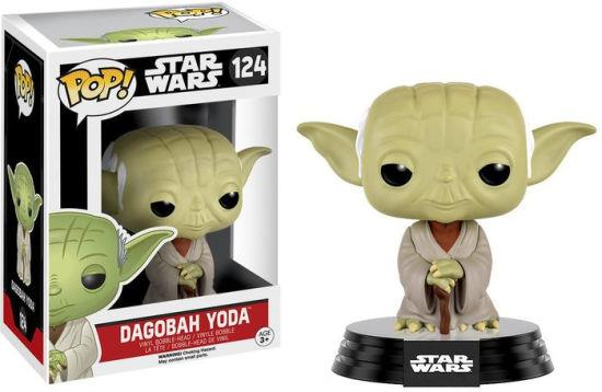 FUNKO ACTION FIGURES FUNKO POP STAR WARS DAGOBAH YODA